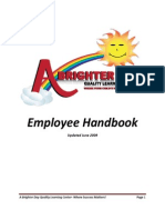 Employee Handbook- Final Copy