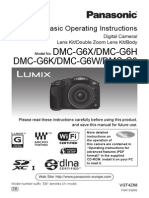 Panasonic Lumix G6 Basic Operating Instructions