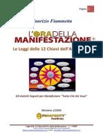 Leggi L Ora Della Manifestazione Ed.1 2008