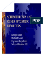 Bms166 Slide Schizophrenia and Other Psychotic Disorders