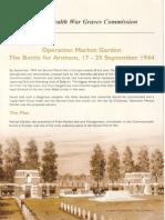 Commonwealth War Graves Commission | Operation market - Garden, september 1944
