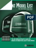Motores Fuera Borda Yamaha