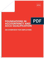 Acca foundation in accountancy