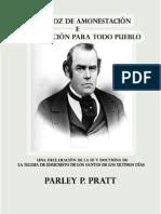 UNA VOZ DE AMONESTACION -  Parley P. Pratt.pdf