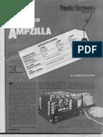 Ampzilla-200 Watt Amp Plans Schematic 1974