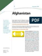 Progress Report Afghanistan