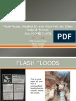flash floods weather erosion rock fall