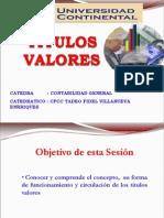 Clase 07 Titulos Valores