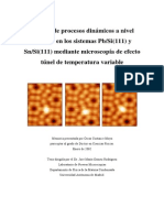 Procesos Dinámicos a Nivel Atomico en Los Sist Pb_Si