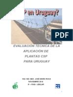 Planta CSP Uruguay - Jose M. Roca