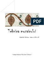 Tehnica mozaicului