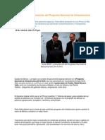 28-04-2014 Puebla Noticias - Asiste RMV a presentación del Programa Nacional de Infraestructura 2014-2018.