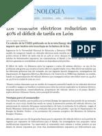 Vehículos Eléctricos en León