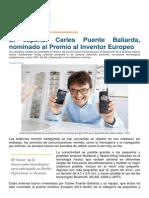 Un Español, Premio Al Inventor Europeo