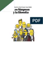Varios - Los Simpson Y La Filosofia