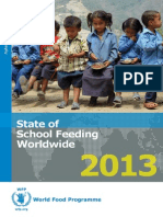 State of School Feeding Wordwide