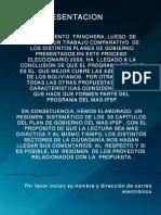 PLAN DE GOBIERNO DEL MAS-IPSP
