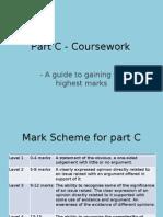 Part C - Course Work