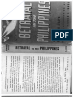 Betrayal in the Philippines - Hernando Abaya