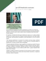 29-04-2014 Regio.com - Afirma diputado que LCE beneficiará a mexicanos.