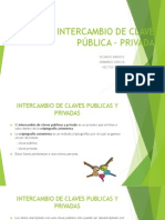 Intercambio de Clave Publica-privada