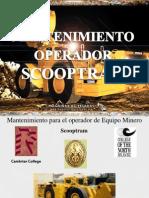 Mantenimiento SCOOPTRAMS Operador