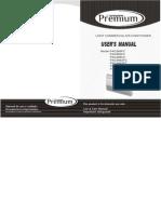 Manual PAC606FC
