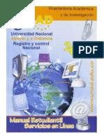 Manual Estudiantil Servicos en Linea Unad