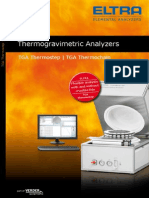 Thermogravimetric Analyzers