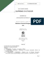 Chavez, Julio César - El Supremo Dictador, Biografía de Doctor Francia [Ed. Digital]