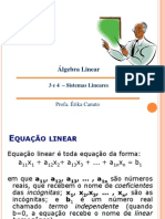 Aula 3 e 4 - Sistemas Lineares