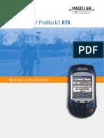 2. ProMark3 y RTK Guía Básica de Utilización Español