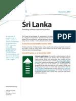 ProgressReport_Sri Lanka Solutions