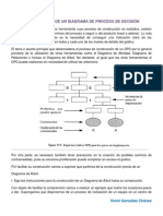 construccin de un diagrama de proceso de decisin