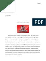 eng 1201 523 coleman szekely essay update