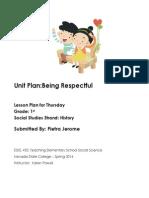 EDEL453 Spring2014 PietraJEROME Unit Plan Thursday (1)