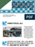 Diagnóstico Del Estado Higiénico-sanitario de La Empresa Embutidos j&j e Implementacion de Las Bpm