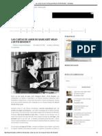 Las Cartas de Amor de Margaret Mead a Ruth Benedict