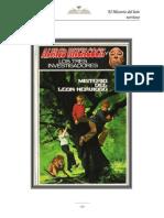 16. Hitchcock Alfred - Los Tres Investigadores - MISTERIOS DEL LEON NERVIOSO- Nick West