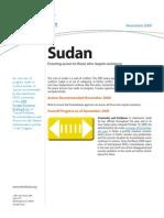 Progress Report Sudan Access