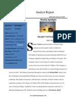 smart ventures analyst report
