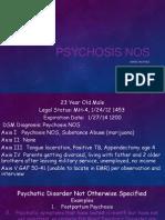 psychosis nos ppt