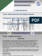 Administracion de Capital Humano