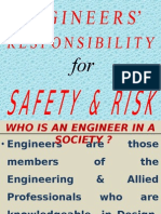 engineer's responsibilty for safety and risk