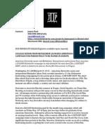molly ellison press release sample 1