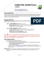 wells cis 1020 syllabus for spring 2014