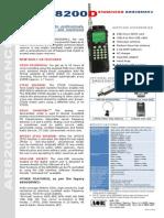 AOR AR8200D Brochure