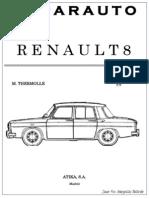 Manual Reparauto Renault 8