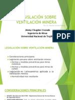 Legislación Sobre Ventilación Minera Exp
