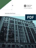 JLL Blake Dawson Australian Real Estate a Legal Guide for Foreign Investors September 2009